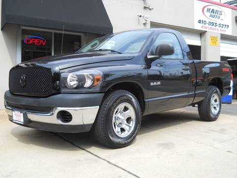 2008 Dodge Ram Pickup 1500 for sale in Fallston, MD