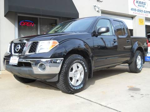 2008 Nissan Frontier For Sale At Kars Inc In Fallston MD