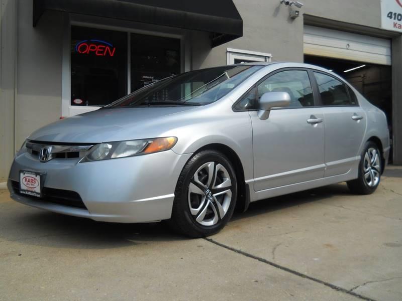 2007 Honda Civic For Sale At Kars, Inc. In Fallston MD
