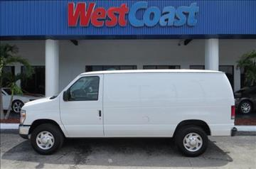 2013 Ford E-Series Cargo for sale at West Coast Car & Truck Sales in Saint Petersburg FL