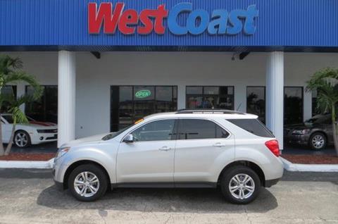 2015 Chevrolet Equinox for sale at West Coast Car & Truck Sales in Saint Petersburg FL