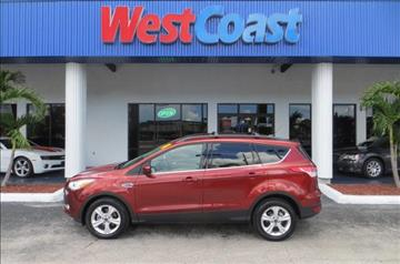 2014 Ford Escape for sale at West Coast Car & Truck Sales in Saint Petersburg FL