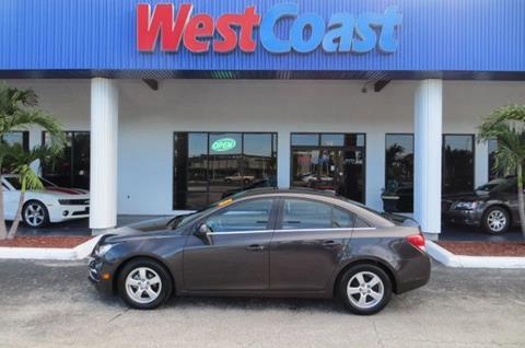 2015 Chevrolet Cruze for sale at West Coast Car & Truck Sales in Saint Petersburg FL