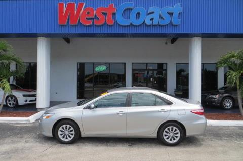 2015 Toyota Camry for sale at West Coast Car & Truck Sales in Saint Petersburg FL