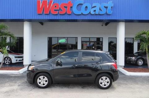 2015 Chevrolet Trax for sale at West Coast Car & Truck Sales in Saint Petersburg FL