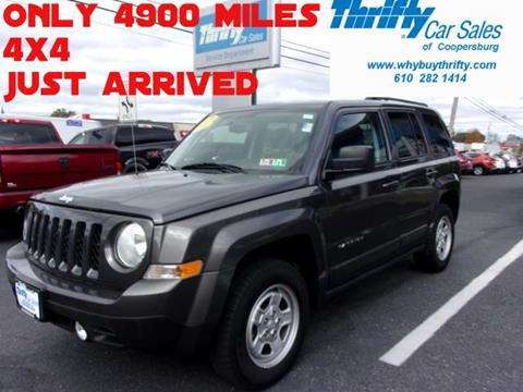 2016 Jeep Patriot for sale in Coopersburg, PA