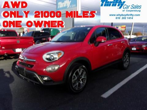2016 FIAT 500X for sale in Coopersburg, PA