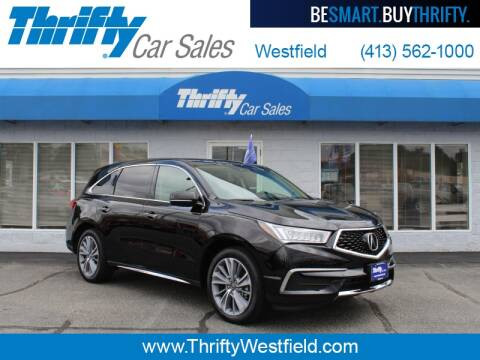 2017 Acura MDX for sale at Thrifty Car Sales Westfield in Westfield MA
