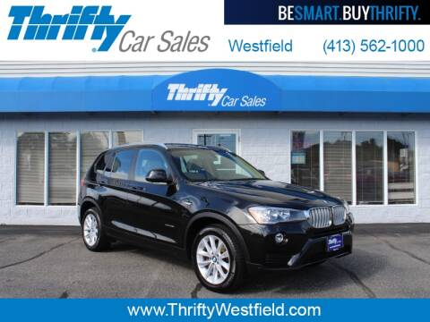 2017 BMW X3 for sale at Thrifty Car Sales Westfield in Westfield MA