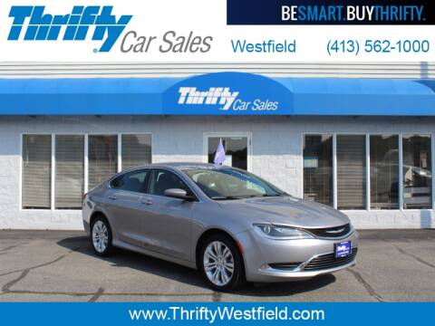 2015 Chrysler 200 for sale at Thrifty Car Sales Westfield in Westfield MA