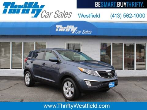 2013 Kia Sportage for sale at Thrifty Car Sales Westfield in Westfield MA