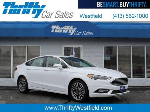 2018 Ford Fusion for sale at Thrifty Car Sales Westfield in Westfield MA