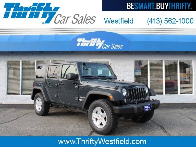 2017 Jeep Wrangler Unlimited for sale at Thrifty Car Sales Westfield in Westfield MA