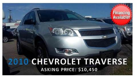 2010 Chevrolet Traverse for sale in Warren, MI