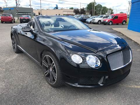 2013 Bentley Continental GTC V8 for sale in Warren, MI