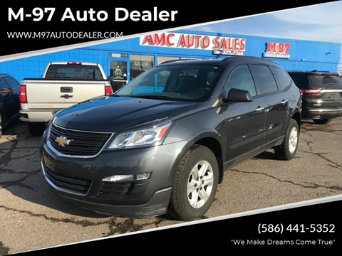 2013 Chevrolet Traverse for sale at M-97 Auto Dealer in Roseville MI