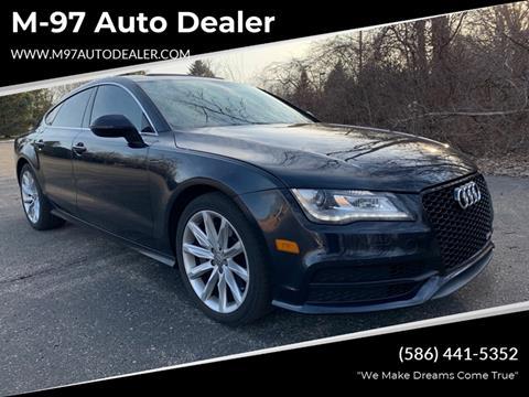 2013 Audi A7 for sale at M-97 Auto Dealer in Roseville MI