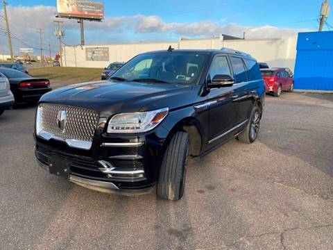 2019 Lincoln Navigator for sale at M-97 Auto Dealer in Roseville MI