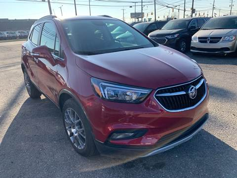 2017 Buick Encore for sale at M-97 Auto Dealer in Roseville MI