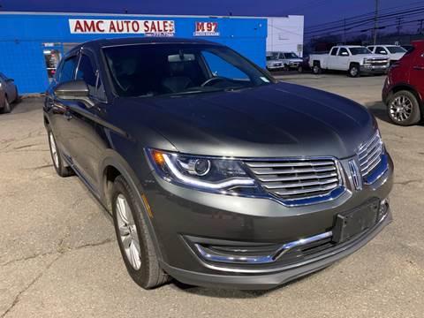 2018 Lincoln MKX for sale at M-97 Auto Dealer in Roseville MI