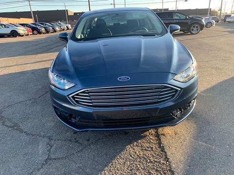 2018 Ford Fusion for sale at M-97 Auto Dealer in Roseville MI