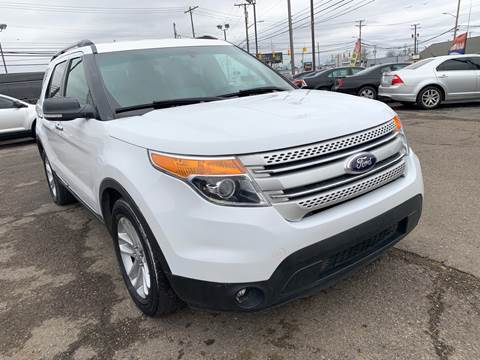 2015 Ford Explorer for sale at M-97 Auto Dealer in Roseville MI