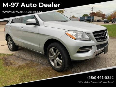 2015 Mercedes-Benz M-Class for sale at M-97 Auto Dealer in Roseville MI