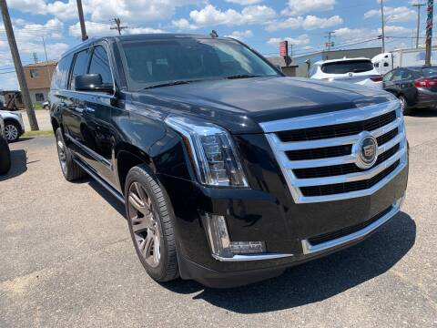 2015 Cadillac Escalade ESV for sale at M-97 Auto Dealer in Roseville MI