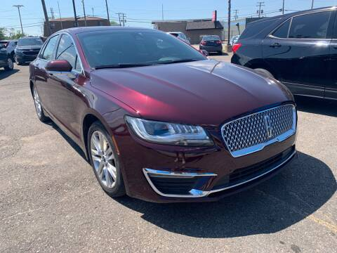 2017 Lincoln MKZ for sale at M-97 Auto Dealer in Roseville MI