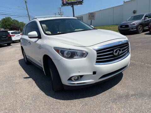 2015 Infiniti QX60 for sale at M-97 Auto Dealer in Roseville MI