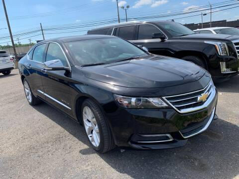 2018 Chevrolet Impala for sale at M-97 Auto Dealer in Roseville MI