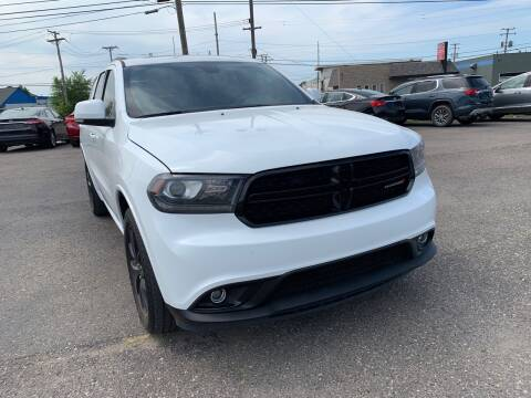 2017 Dodge Durango for sale at M-97 Auto Dealer in Roseville MI