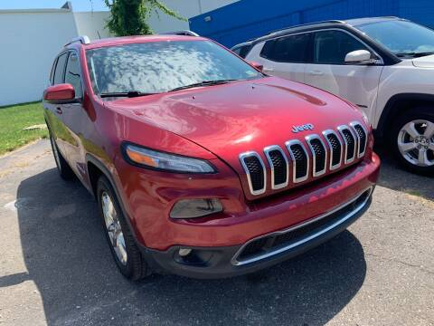 2015 Jeep Cherokee for sale at M-97 Auto Dealer in Roseville MI