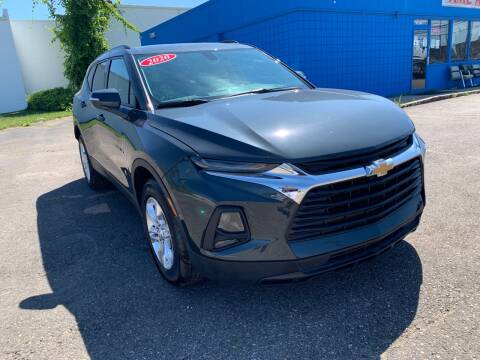 2020 Chevrolet Blazer for sale at M-97 Auto Dealer in Roseville MI
