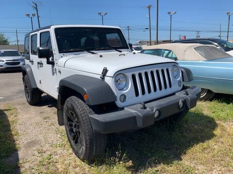 2015 Jeep Wrangler Unlimited for sale at M-97 Auto Dealer in Roseville MI