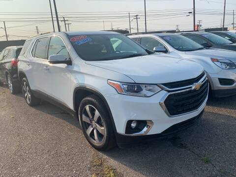 2020 Chevrolet Traverse for sale at M-97 Auto Dealer in Roseville MI