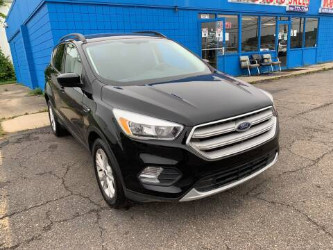 2018 Ford Escape for sale at M-97 Auto Dealer in Roseville MI