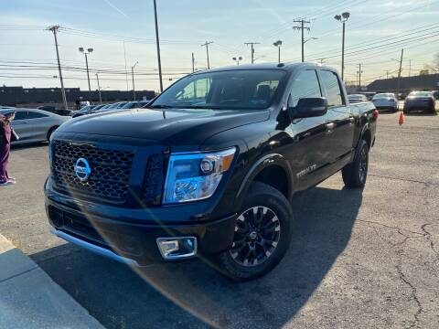 2019 Nissan Titan for sale at M-97 Auto Dealer in Roseville MI