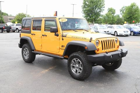 2012 Jeep Wrangler Unlimited for sale in Maryville, TN