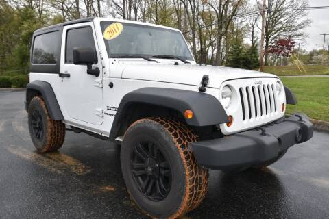 2011 Jeep Wrangler Sport for sale at Hepperly Auto Sales in Maryville TN