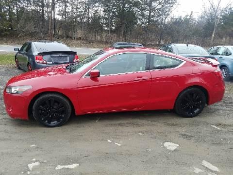 2009 Honda Accord for sale at B & B GARAGE LLC in Catskill NY