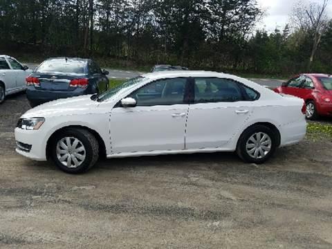 2012 Volkswagen Passat for sale at B & B GARAGE LLC in Catskill NY