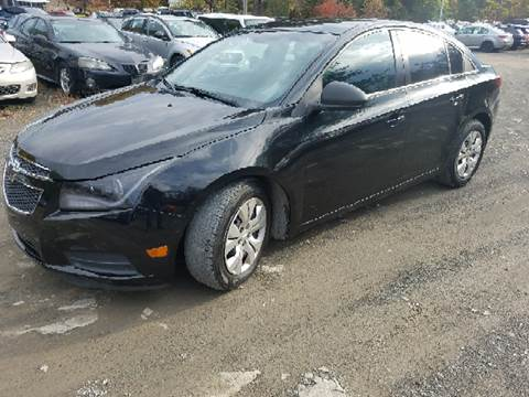 2012 Chevrolet Cruze for sale at B & B GARAGE LLC in Catskill NY