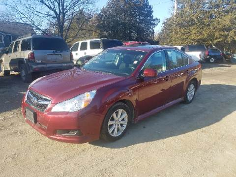 2012 Subaru Legacy for sale at B & B GARAGE LLC in Catskill NY