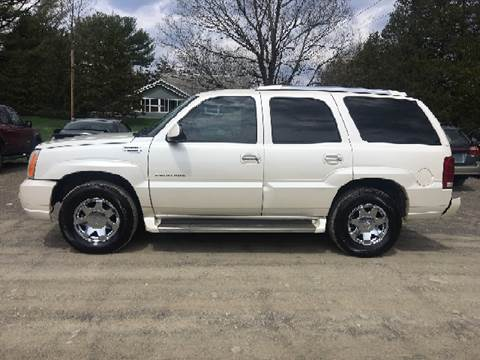 2005 Cadillac Escalade for sale at B & B GARAGE LLC in Catskill NY