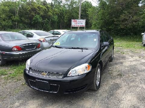 2013 Chevrolet Impala for sale at B & B GARAGE LLC in Catskill NY