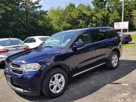 2012 Dodge Durango for sale at B & B GARAGE LLC in Catskill NY