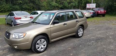 2008 Subaru Forester for sale at B & B GARAGE LLC in Catskill NY