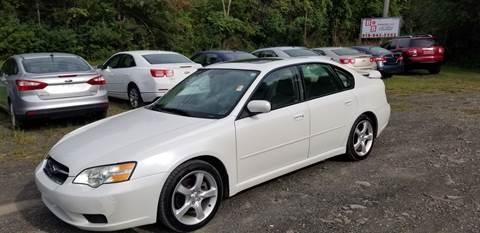 2007 Subaru Legacy for sale at B & B GARAGE LLC in Catskill NY