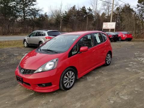 2012 Honda Fit for sale at B & B GARAGE LLC in Catskill NY